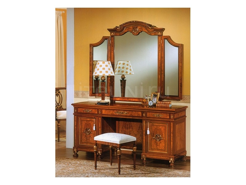Carved mirror Sitting room  - DUCALE DUCSP3E / 3 elements mirror - №20