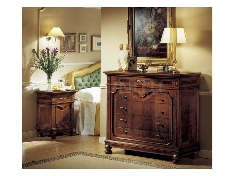 Carved nightstands Hotel  - GRANDUCATO / Bedside table - №27