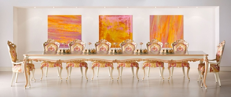 Luxury classic chairs, Art. 3317: Table, Table - №86