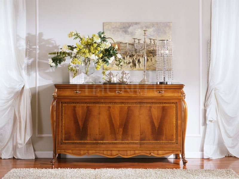 Classic style sideboards Dining room  - OLIMPIA B / Sideboard with 3 doors - №64