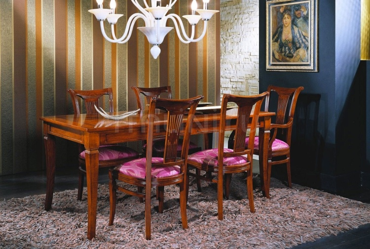 Luxury classic chairs, Art. 3024: Table, Extensible table - №122