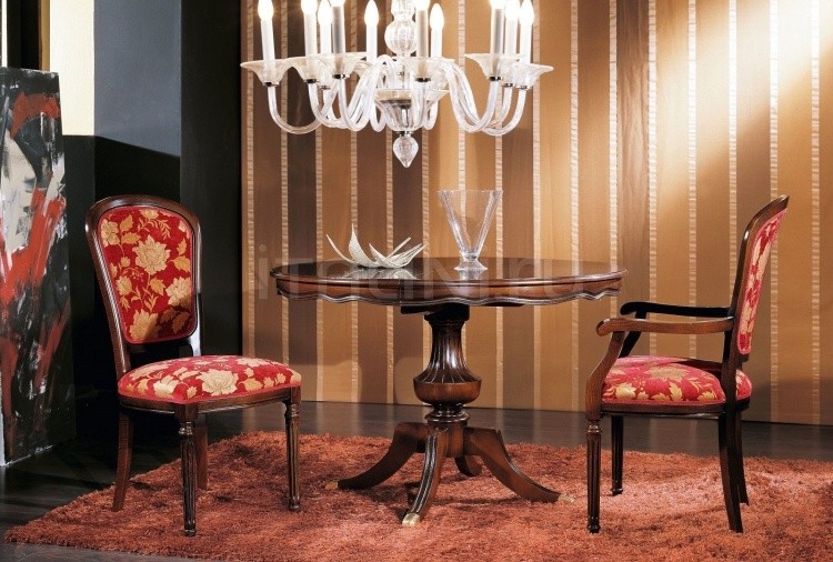 Luxury classic chairs, Art. 3008: Extensible table - №121